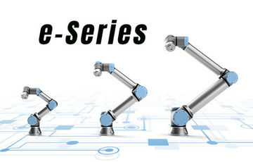 Universal Robot launches the new E-series robots.