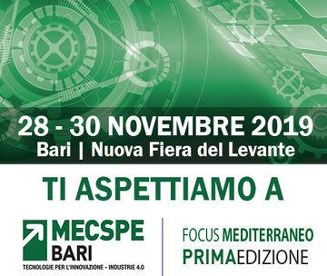 TECOMA a Mecspe Bari 2019