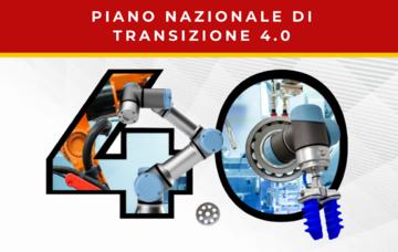 NUOVO PIANO NAZIONALE DI TRANSIZIONE 4.0